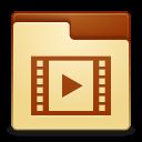 Places folder videos icon