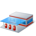 gasoline station, petrol station, gasstation, filling station, gas station icon