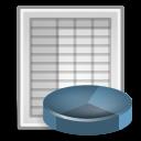 spreadsheet, office icon