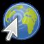 gnome, browser, web icon