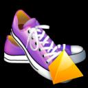 shoes, level icon