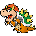 Bowser, Paper icon