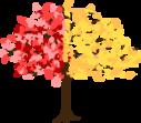 autumn tree icon