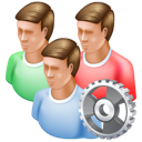 group, config icon
