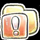 Folder, g, Important icon