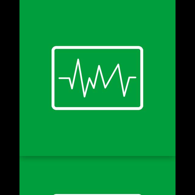mirror, tool, information, performance icon