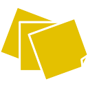 sticky, notes icon