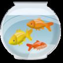 bowl, fish, animal icon