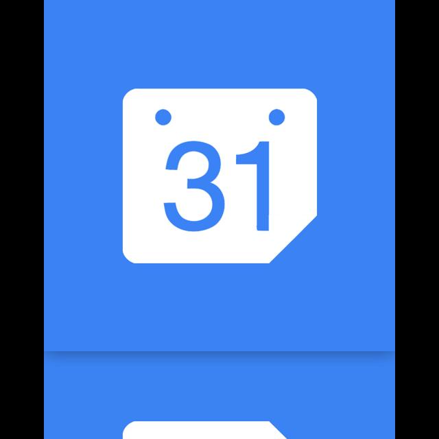 mirror, calendar, google icon