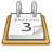 gnome, calendar, 48, office icon