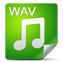 Filetype, , Wav icon