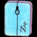 osd archive zip icon