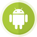 android, android logo, mobile, mobile phone icon