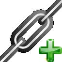 chain, add, link, insert icon