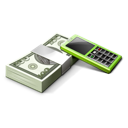 money, accounting, cash, calculator, business, receivables icon