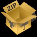 comprimidos, zip icon
