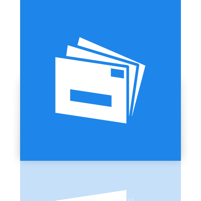 mail, mirror, live icon