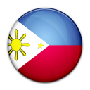 philippines, country, flag icon