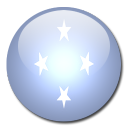 state, federated, micronesia, country, flag icon