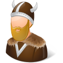 viking, male icon
