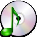 audio, optical, media icon