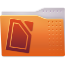 Places folder txt icon