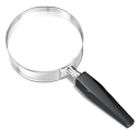 search, look up, magnifying glass icon