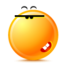 Bad, Smile icon