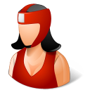 Sport Boxer Female Light icon