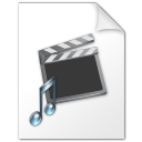 document, video, and, film, music, file, paper, movie icon