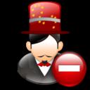Magician, Remove icon