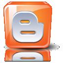 Blogger, Orange icon