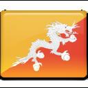 bhutan,flag,country icon