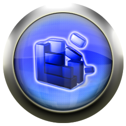 defrag, blue icon