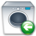 Back, Machine, Washing icon