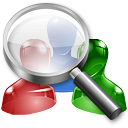 user, find, search icon