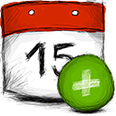 add, date icon