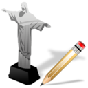 cristoredentor,write,writing icon