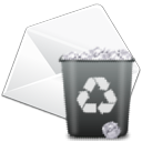 Delete, Edit, Mail icon