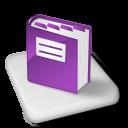 Color MS OneNote icon
