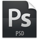 file, document, psd, paper icon