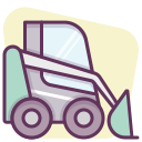 machine, heavy equipment, building, construction machinery, heavy machinery, construction, work icon