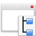 Folders, Interface, Tree, User, Window icon