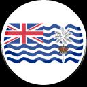 territory, ocean, indian, british icon