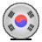 korea, flag icon