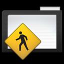 public, dark, folder icon