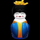 china,blue icon