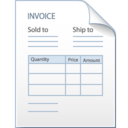 invoice,bill,factura icon