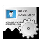 edit, profile, identity icon