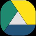 Flat, Googledrive, Round icon